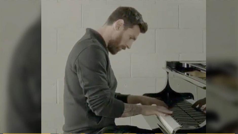 Se descubre la verdad sobre el video de Messi tocando el piano
