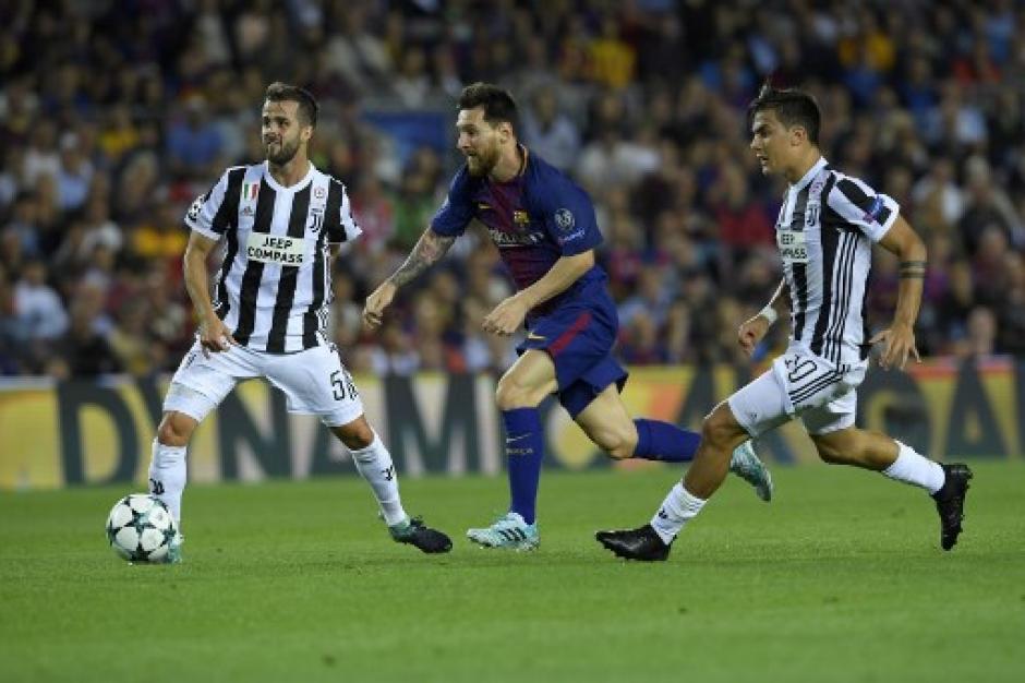Messi fue imparable parea la defensa de la Juve. (Foto: AFP)