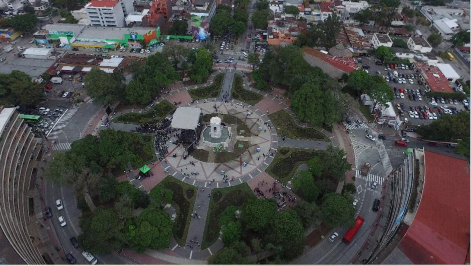 El área ocupa 12 mil metros cuadrados. (Foto: Jorge Rojas/Soy502)