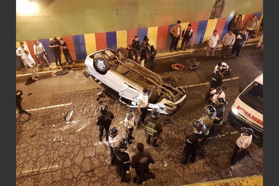 Uno de los accidentes se reportó aún durante la noche del martes. (Foto: Amílcar Montejo/PMT)