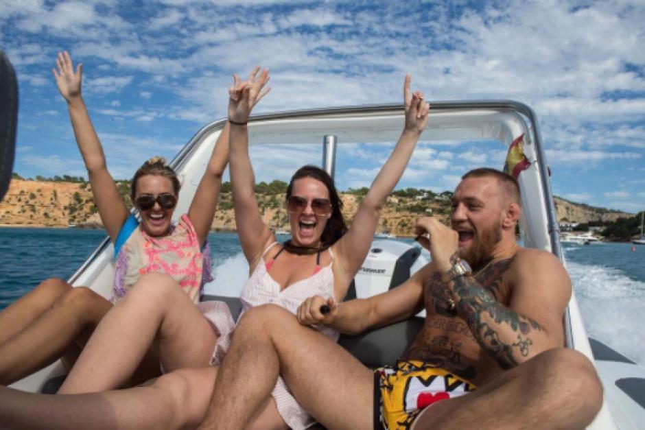 Sin duda las vacaciones de McGregor serán inolvidables. (Foto: Instagram)