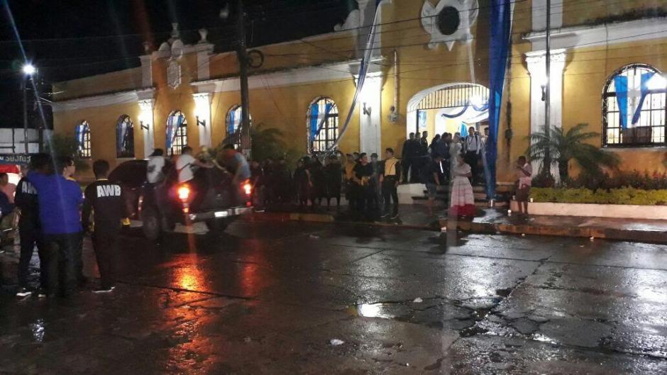 Tras los incidentes en el principio, luego todo transcurrió con normalidad. (Foto: Henry de León/Nuestro Diario)