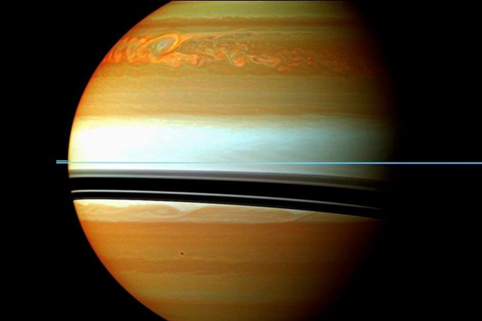 Fotografía capturada por la sonda Cassini. (Foto: NASA)