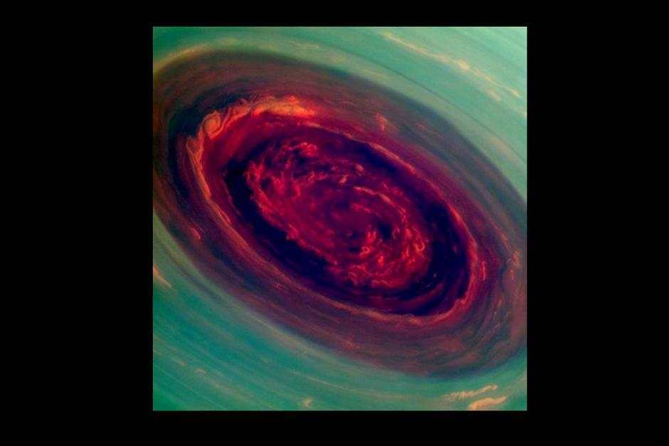 Esta es una de las imágenes de la sonda Cassini más populares. (Foto: NASA)