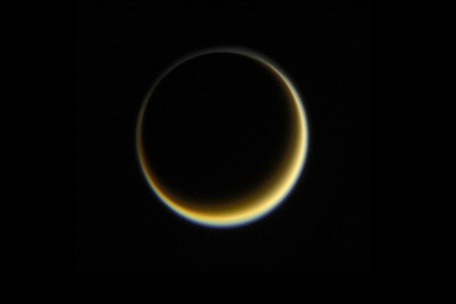 Fotografía capturada por la sonda Cassini (Foto: NASA)