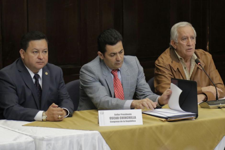 Los diputados se reunieron para analizar las reformas que habían aprobado, pero que luego rectificaron. (Foto: Alejandro Balán/Soy502)
