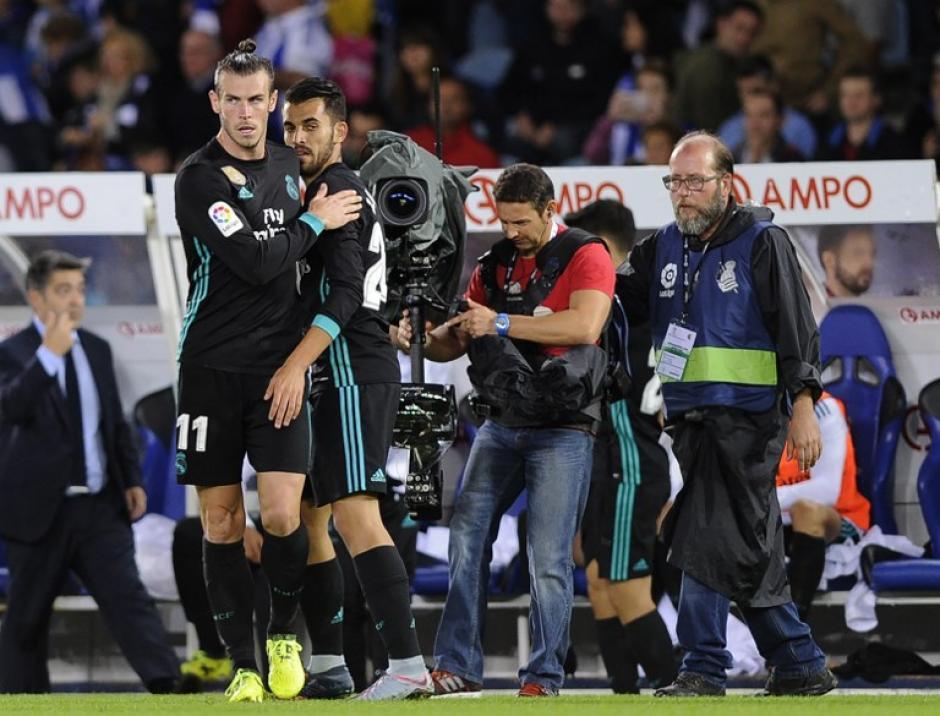Gareth Bale anotó el tercer gol para los merengues. (Foto: AFP)