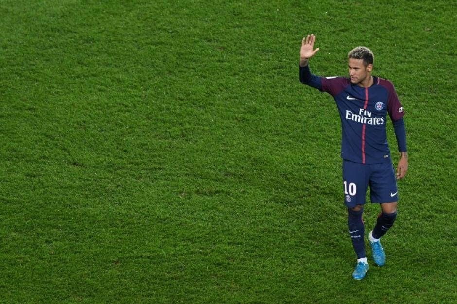 Neymar no apareció en el marcador en el último juego del PSG. (Foto: AFP)