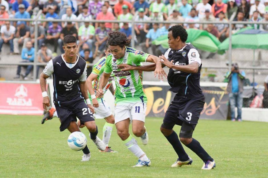 Comunicaciones y Antigua no rompieron el cero en el marcador. (Foto: Sergio Muñoz/Nuestro Diario)