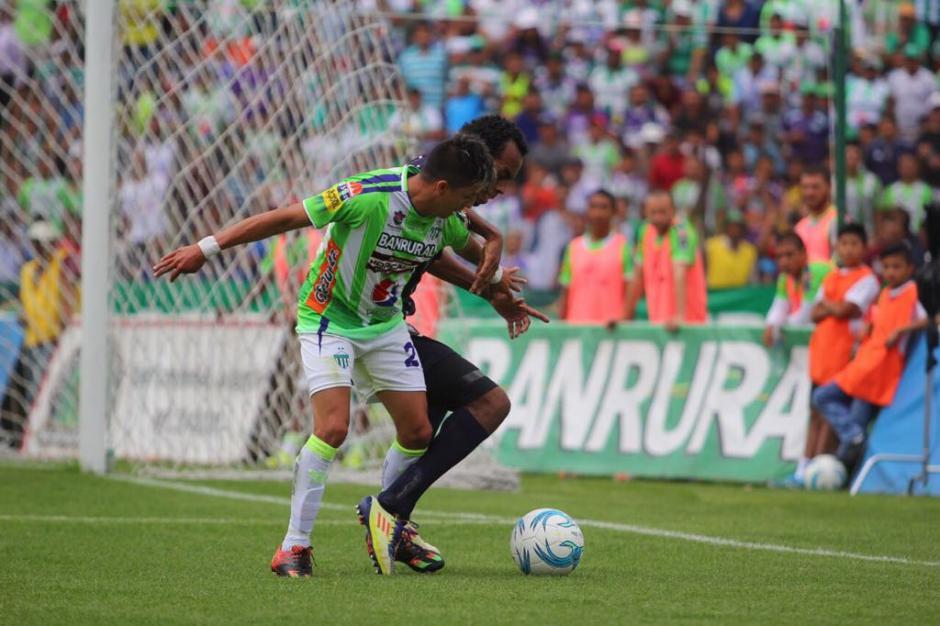 El partido estuvo muy disputado y hubo pocas oportunidades claras. (Foto: Damaris Ortiz/Antigua GFC)
