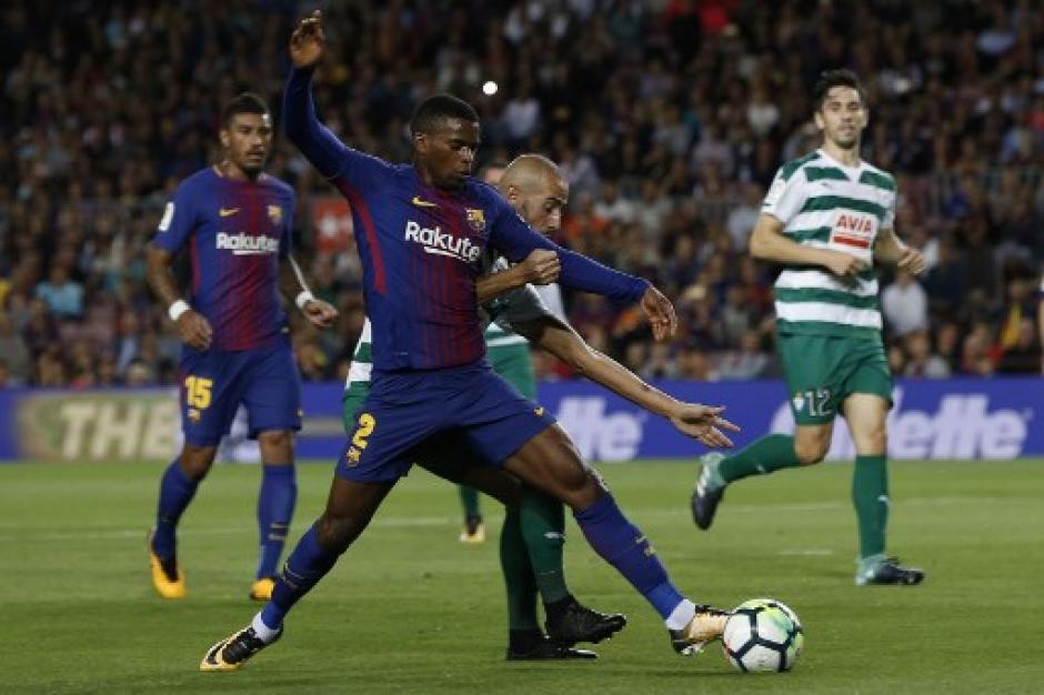 El FC Barcelona fue ampliamente superior al Eibar. (Foto: AFP)