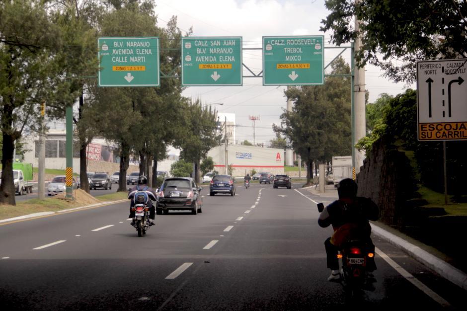 La obra beneficiará a más de 80 mil conductores que a diario utilizan esta vía. (Foto: Fredy Hernández/Soy502)