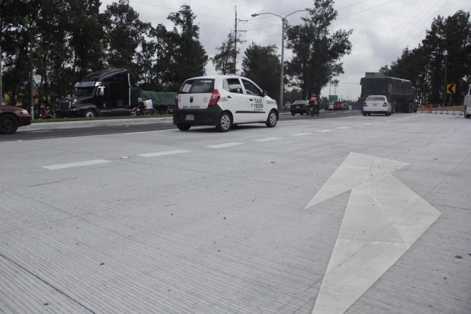 Ls circulación se percibía con mayor fluidez en horas de la mañana. (Foto: Fredy Hernández/Soy502)