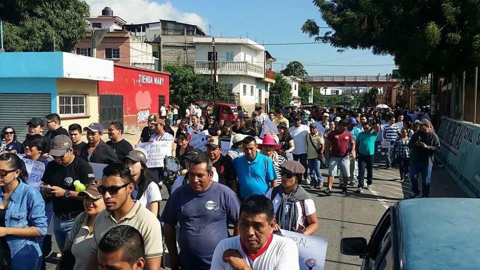En Chiquimula también se registraron manifestaciones pacíficas. (Foto: El Gráfico de Oriente)