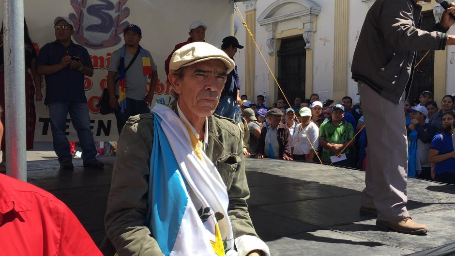 El guatemalteco Amílcar Monroy se encuentra en el Congreso. (Foto: Luis Barrios/Soy502)