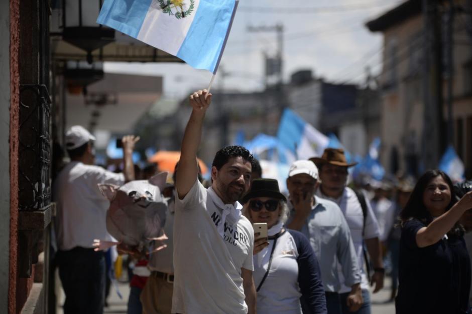 Las manifestaciones salieron desde varios puntos del país. (Foto: Wilder López/Soy502)