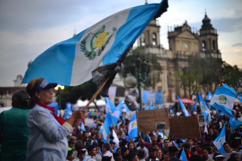 Más de 200 mil personas participaron en el Paro Nacional 20S. (Foto: Jesús Alfonso/Soy502)