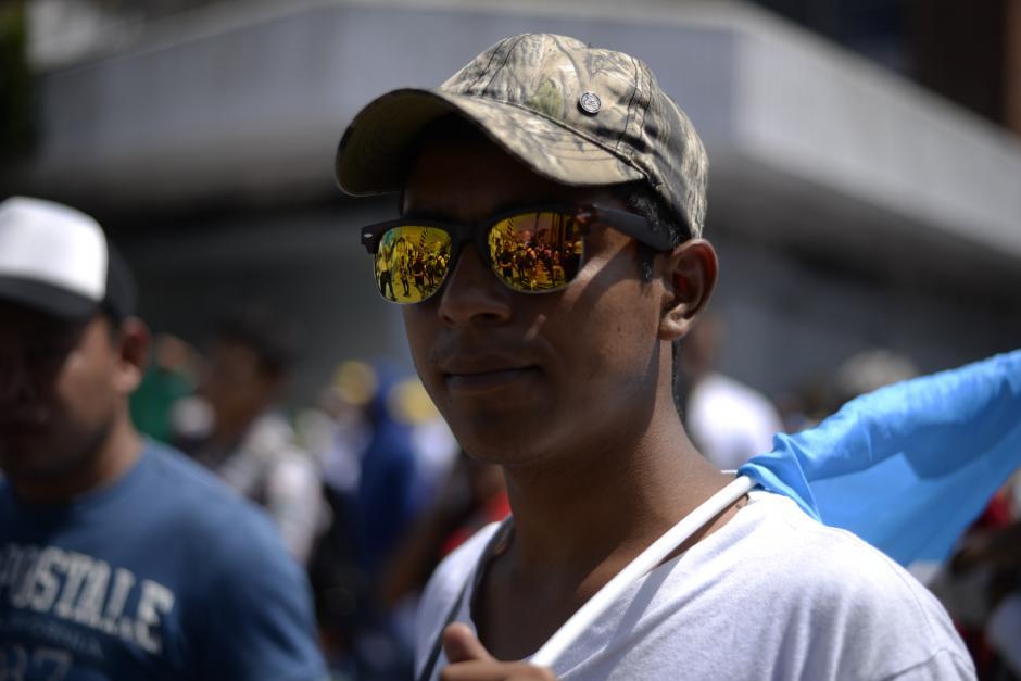 Al menos 125 mil guatemaltecos se concentraron en la capital. (Foto: Wilder López/Soy502)