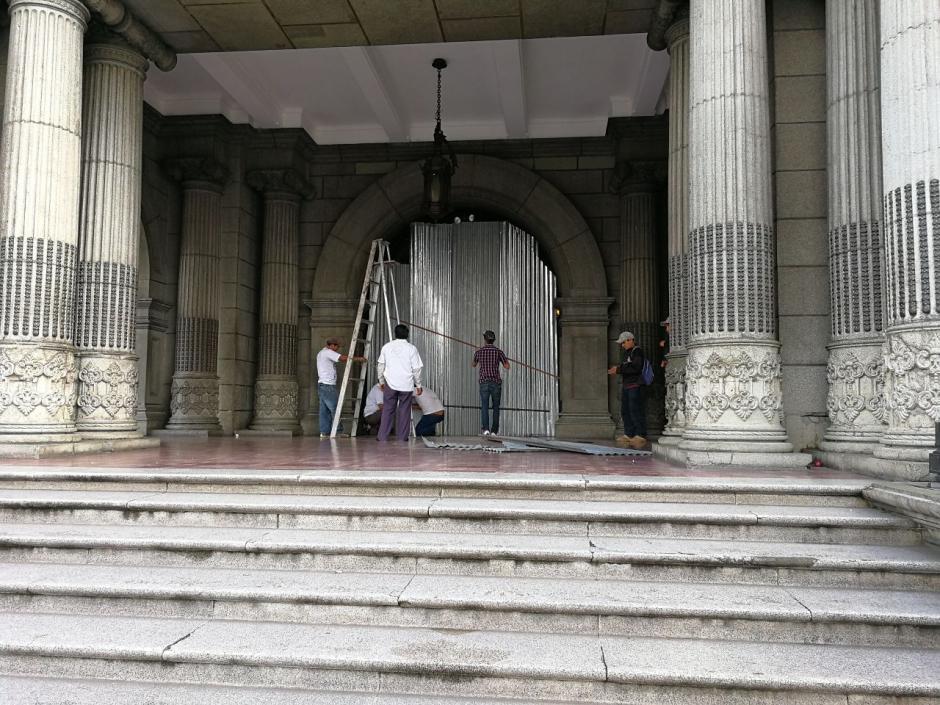 Las manifestaciones se concentrarán en Palacio Nacional de la Cultura. (Foto: Soy502)
