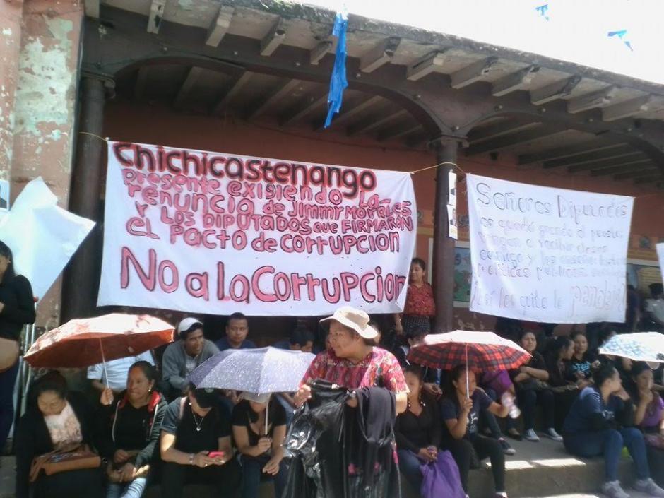 Se estima que más de 80 mil personas participaron en las protestas en los departamentos. (Foto: Enrique Marth)