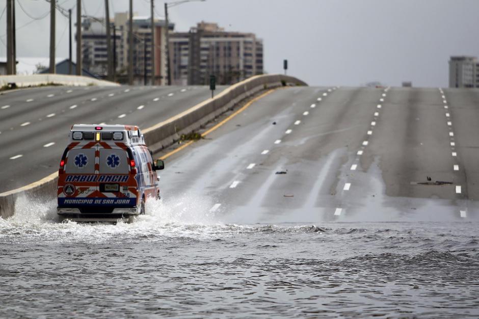 El huracán María golpeó este territorio estadounidense el miércoles con una categoría 4. (Foto: AFP)