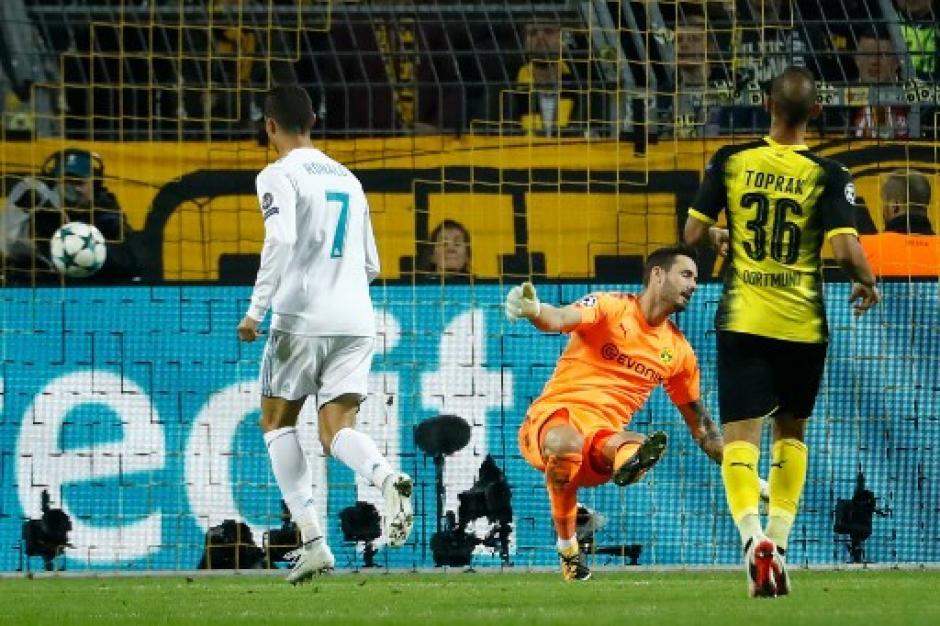 Cristiano Ronaldo marcó su gol 410 con el Real Madrid en 400 juegos. (Foto: AFP)