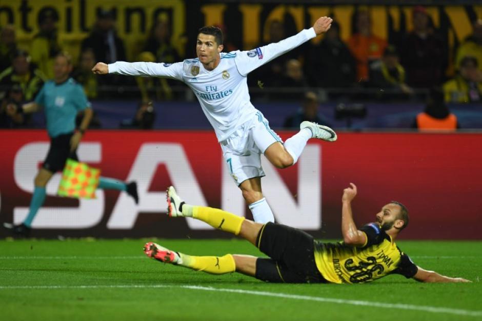 Cristiano Ronaldo marcó un doblete y guio el triunfo del Madrid. (Foto: AFP)