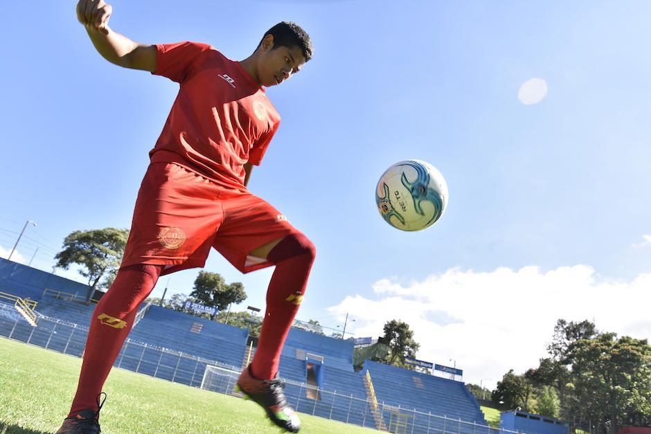 Pedrito Altán espera con ansias la oportunidad de volver a jugar con Municipal. (Foto:  (Foto: Nuestro Diario)
