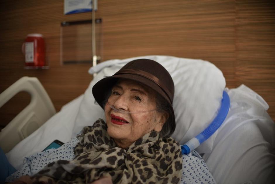 Adela Peralta demostró su fortaleza en uno de los momentos más críticos de su vida. (Foto: AFP)