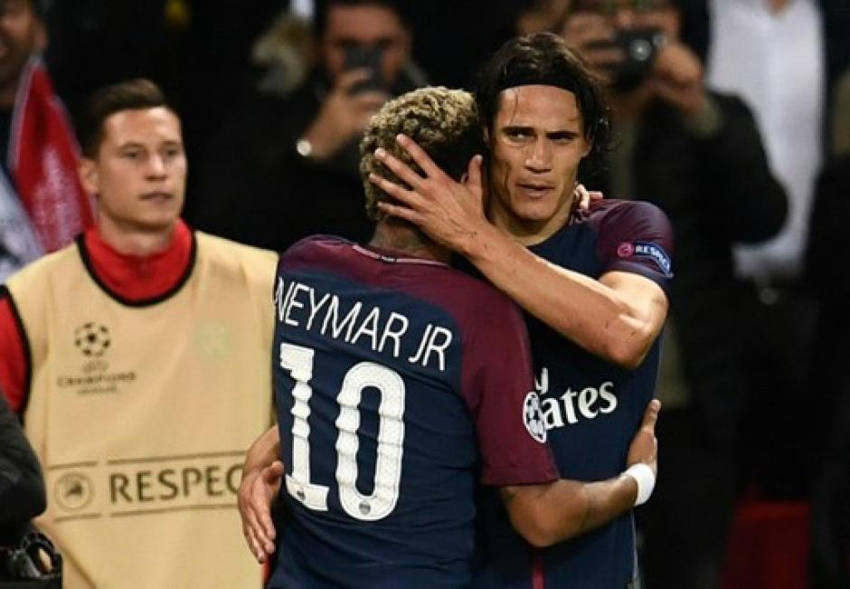 Cavani y Neymar juntos pueden ser letales para cualquier equipo. (Foto: AFP)