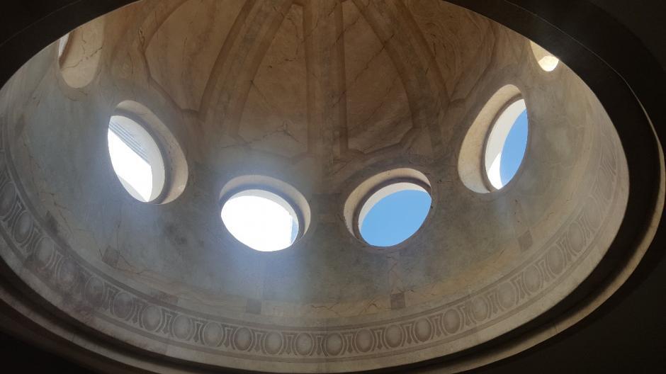 La casa tiene una cúpula. (Foto: MP)