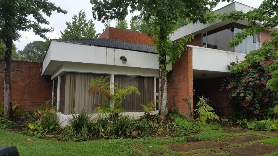 La vivienda está vinculada con la exvicepresidenta Roxana Baldetti. (Foto: MP)