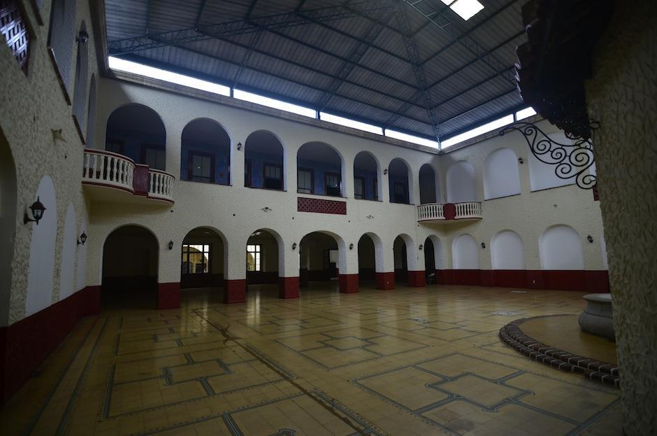 El actual Salón Oro era un área de estar en el hotel. (Foto: Selene Mejía/Soy502)
