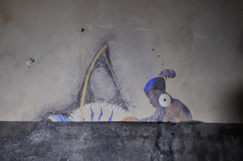 El mural muestra a cinco mujeres que representan los 5 continentes. (Foto: Selene Mejía/Soy502)