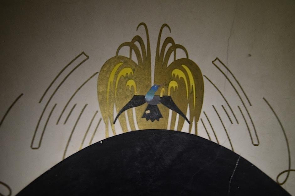 El mural rodea todo el espacio. (Foto: Selene Mejía/Soy502)