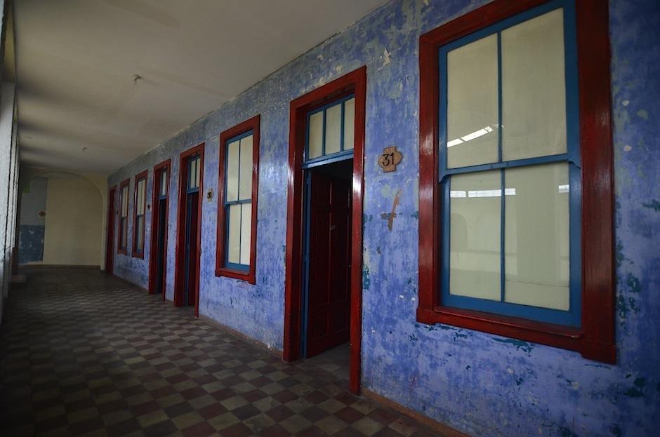 En el segundo nivel del salón Oro se encuentra una parte de las habitaciones. (Foto: Selene Mejía/Soy502)