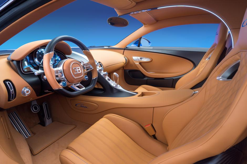 Este es el interior del Bugatti que se compró Cristiano Ronaldo. (Foto: Twitter)