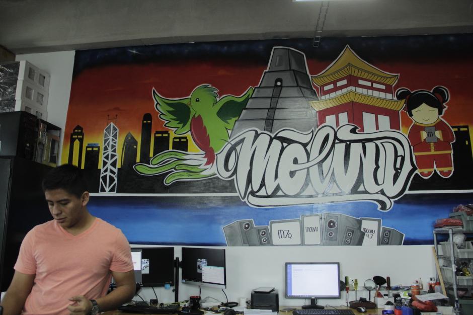 Molvu es una empresa guatemalteca que comenzó en una pequeña oficina en el Campus Tec. (Foto: Fredy Hernández/Soy502)