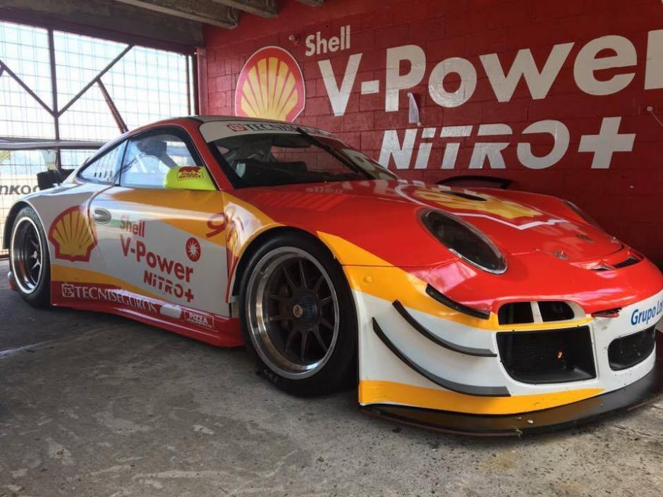 El Porche de Diego Cuestas competiría este domingo en la quinta fecha del campeonato nacional de automovilismo. (Foto: Automovilismo GT)