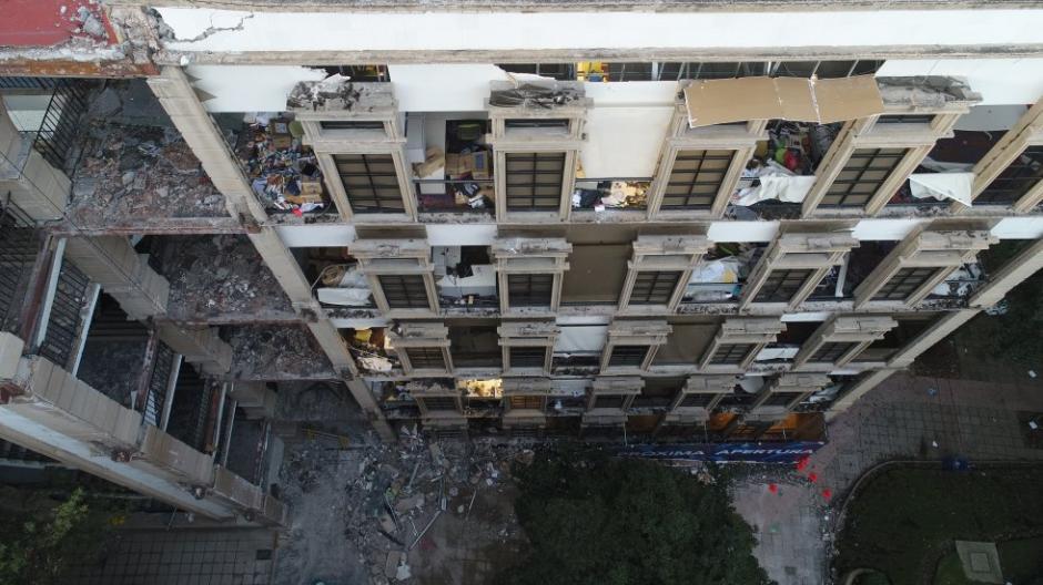 El campus de la ciudad de México de la sede de la universidad TEC de Monterrey sufrió daños. (Foto: Santiago Arau)