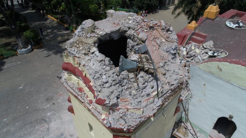 Varias iglesias sufrieron daños. (Foto: Santiago Arau)