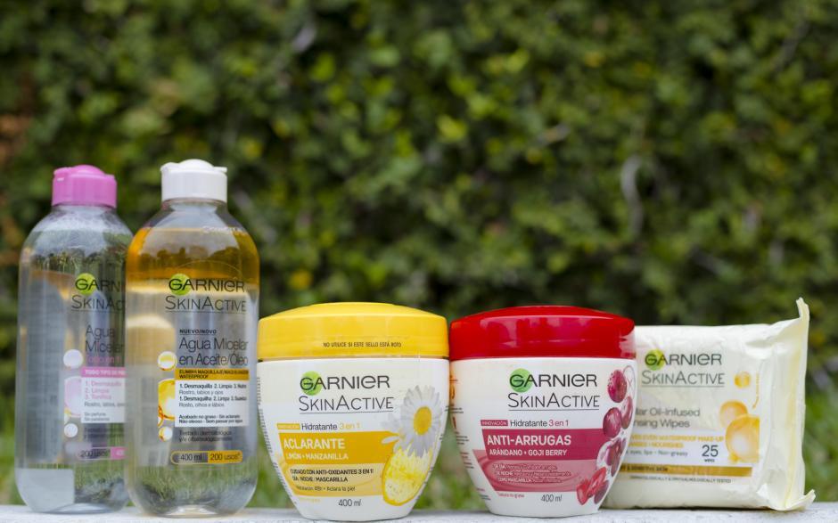 Los nuevos productos Skin Active de Garnier contienen ingredientes naturales. (Foto: George Rojas/Soy502)