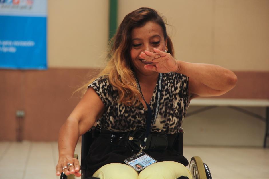Dora trae el ritmo en la sangre y lo comparte con muchas personas. (Foto: Fredy Hernández/Soy502)
