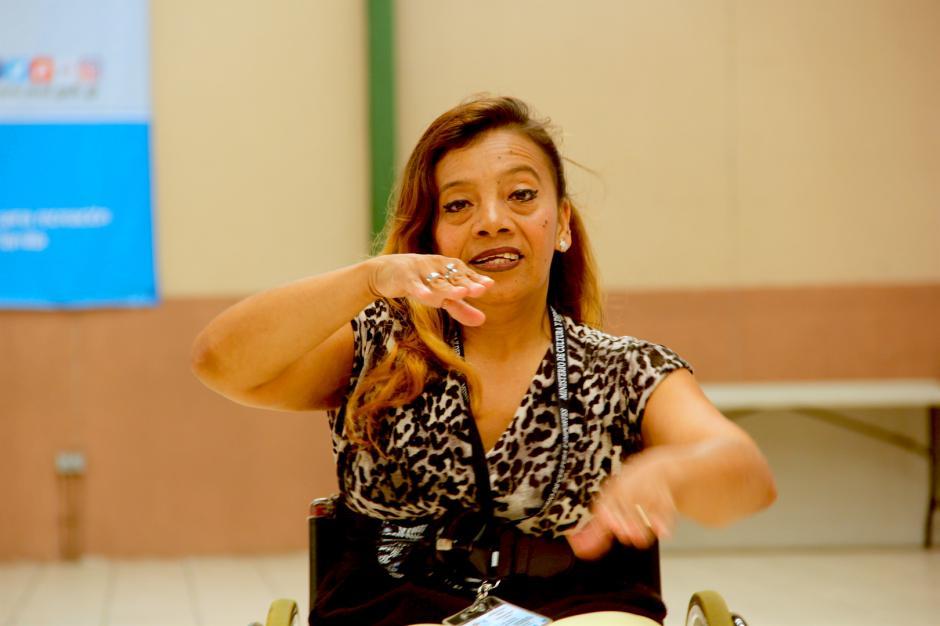Dora Moreno siempre quiso bailar desde que era una niña. (Foto: Fredy Hernández/Soy502)