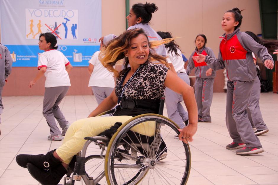 El baile le ha servido para que sus sueños puedan cumplirse de a poco. (Foto: Fredy Hernández/Soy502)