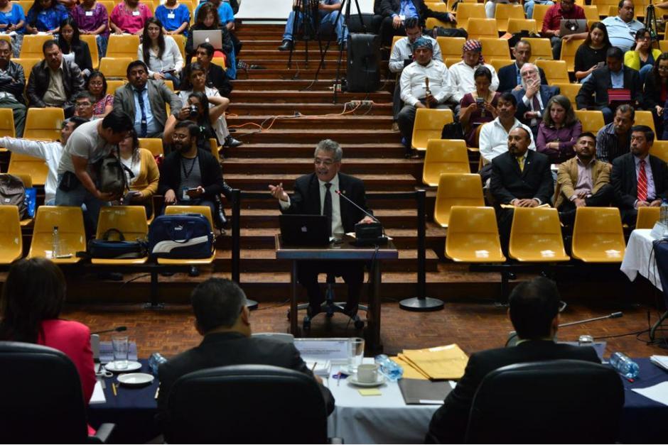 El juez Gálvez había prorrogado la sesión de declaración de Monzón para explicar su plan de trabajo en el MO.