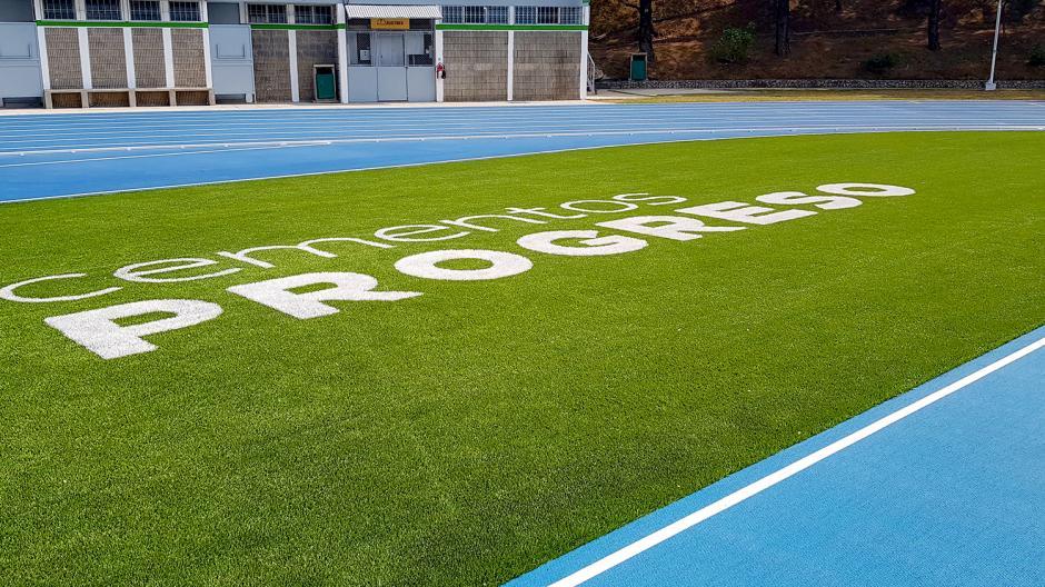 Cementos Progreso estrena pista Mondo y renueva sus instalaciones. (Foto: VictorXiloj/Soy502)