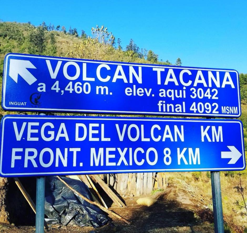 El atleta recorrió la cadena volcánica del país. (Foto: Instagram)