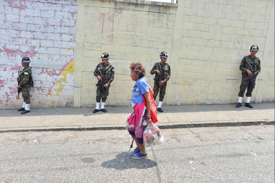 Estos días los militares y la PNC viven una transición. (Foto: Jesús Alfonso/Soy502)