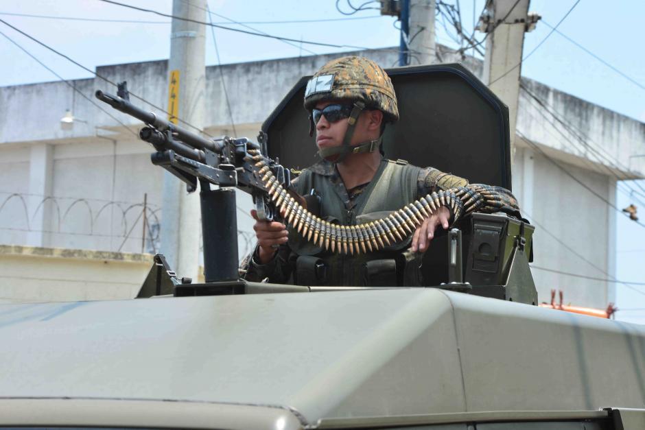 Durante 18 años, el Ejército ha apoyado en seguridad ciudadana.(Foto: Jesús Alfonso/Soy502)ç